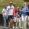 "Fans moving from the 1st tee onto the course on the 3rd day of competition  in the Asia-Pacific Amateur Championship tournament 2017 held at Royal Wellington Golf Club, in Heretaunga, Upper Hutt, New Zealand from 26 - 29 October 2017. Copyright John Mathews 2017.    <a href=""http://www.megasportmedia.co.nz"">http://www.megasportmedia.co.nz</a>"