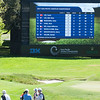 "Photo of the Leaderboard as at 11.00am on the 3rd day of competition  in the Asia-Pacific Amateur Championship tournament 2017 held at Royal Wellington Golf Club, in Heretaunga, Upper Hutt, New Zealand from 26 - 29 October 2017. Copyright John Mathews 2017.    <a href=""http://www.megasportmedia.co.nz"">http://www.megasportmedia.co.nz</a>"