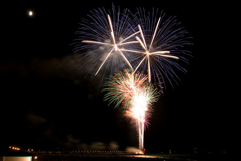 Fireworks at South Haven, Michigan.
