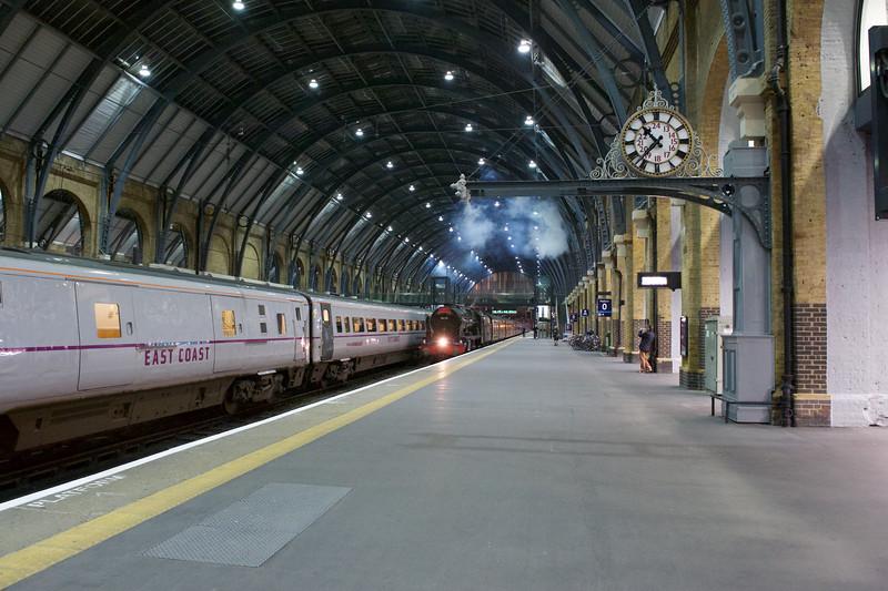 Steam Train at Kings Cross