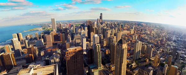Chicago cityscape spiderman windowsOrig