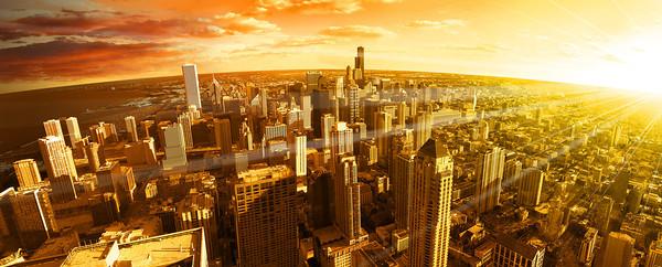 Chicago cityscape 30perc