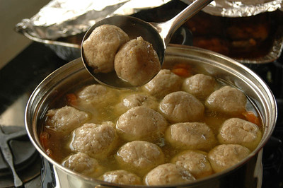 Matzo Ball Soup 111