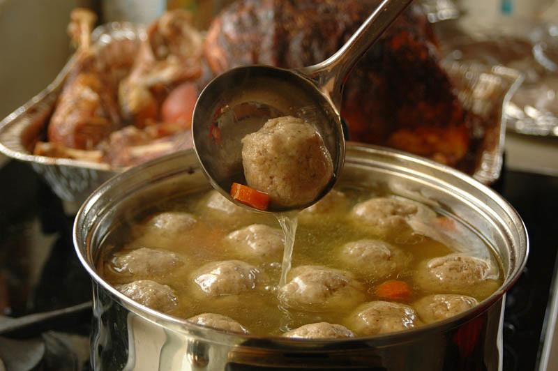 Matzo Ball Soup 116