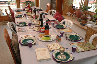Seder Table 101