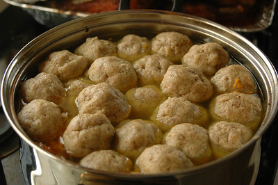 Matzo Ball Soup 110
