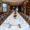 Private dining room at The Bristol. Chicago, IL.