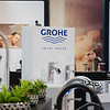 Grohe display in Studio 41 showroom. Chicago, IL