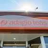 Storefront sign for Adagio Teas. Skokie, IL
