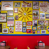 Hot Doug's interior. Gourmet hot dog joint. Chicago, IL