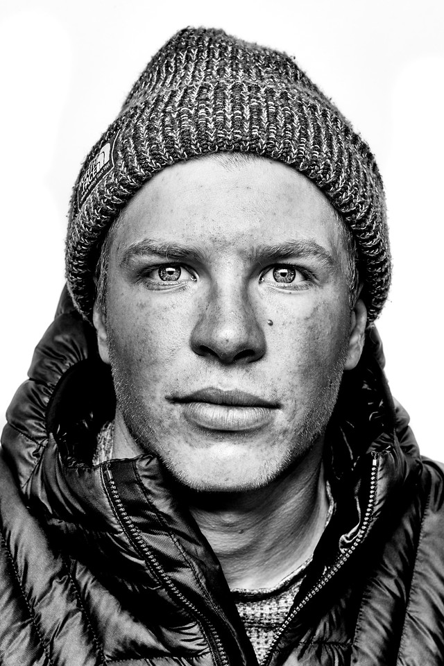 Aaron Blunk, Skier, The North Face
