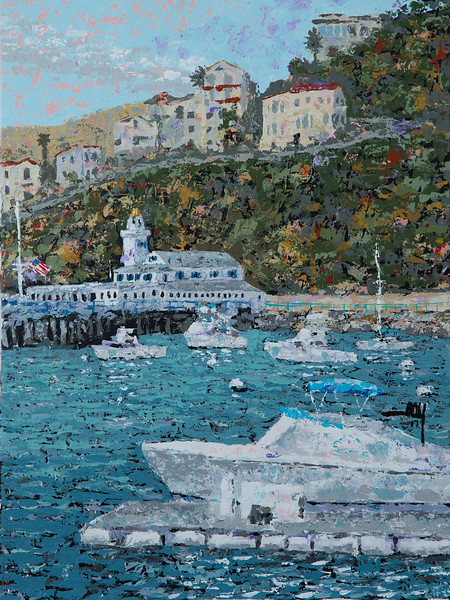 056 Avalon Catalina Yacht Club 18x24