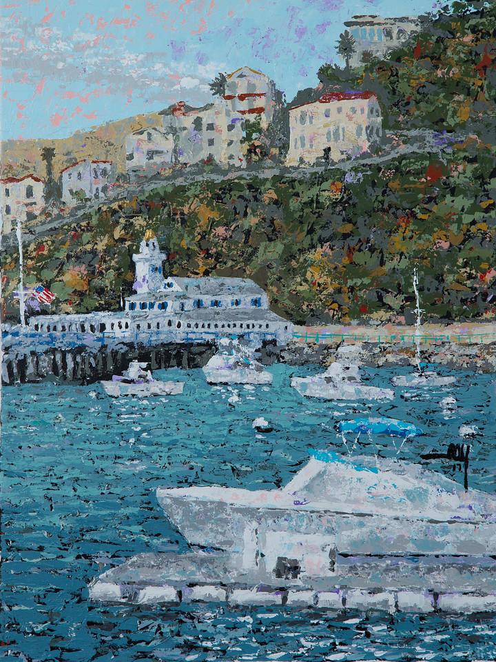 056 Avalon Catalina Yacht Club 18x24