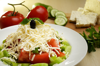 Ovcharska salad
