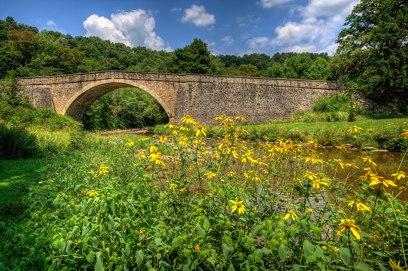 Casselman Bridge in Grantsville, Maryland