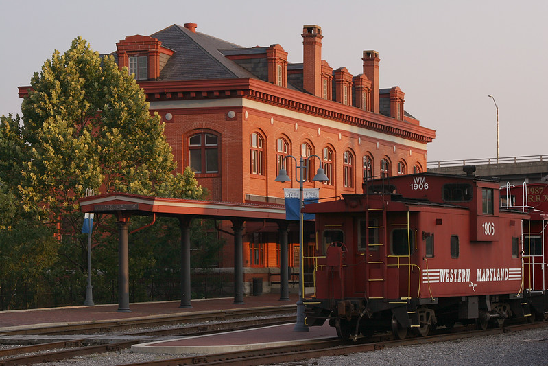 Western Maryland Railroad Station in Cumberland Maryland