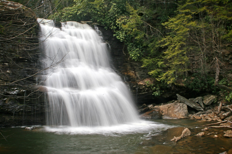 Muddy Creek Falls at Swallow Falls State Park