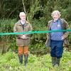 Opening of Restored River Meander, Comberton, Cambridge UK