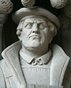 Martin Luther - Reformer  Duke University Chapel, Durham North Carolina ---                                                           John Lynner Peterson, photographer