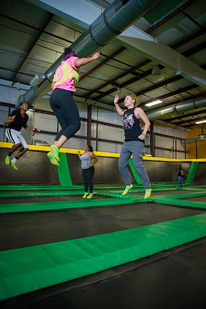 Rockin' Jump Park Action Shots