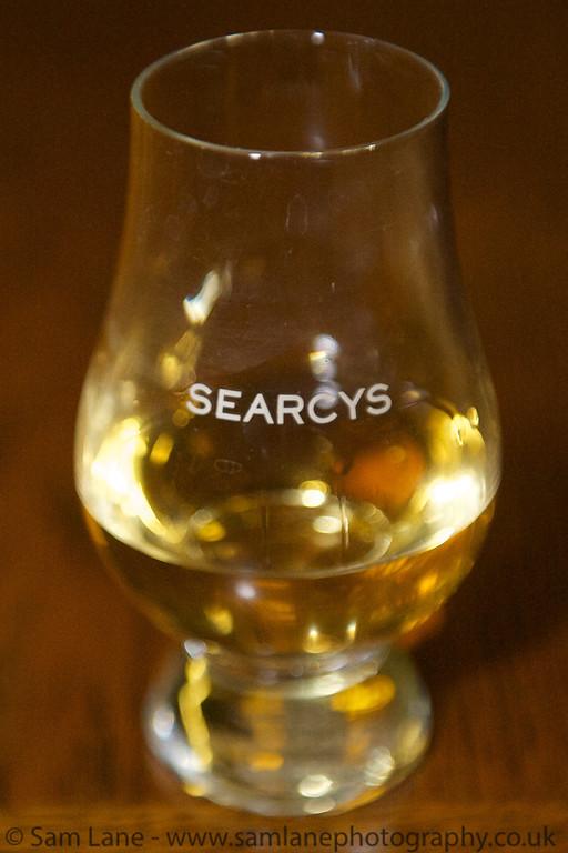 Burns Night at Searcys 2013