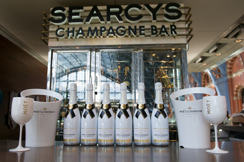 Moet Ice and Bolly Display