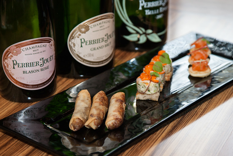 Food Tasting with Perrier Jouet