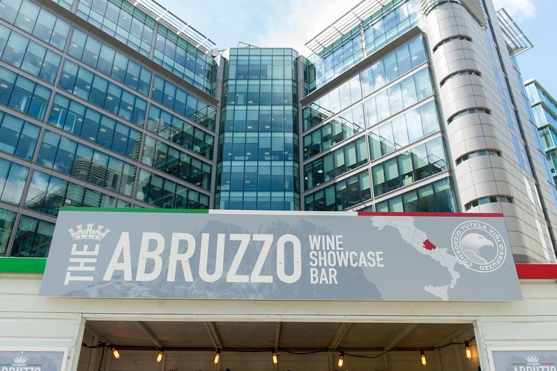 The Abruzzo Wine Showcase Bar at Paddington Central