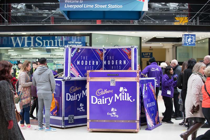 Cadburys at Liverpool Lime Street