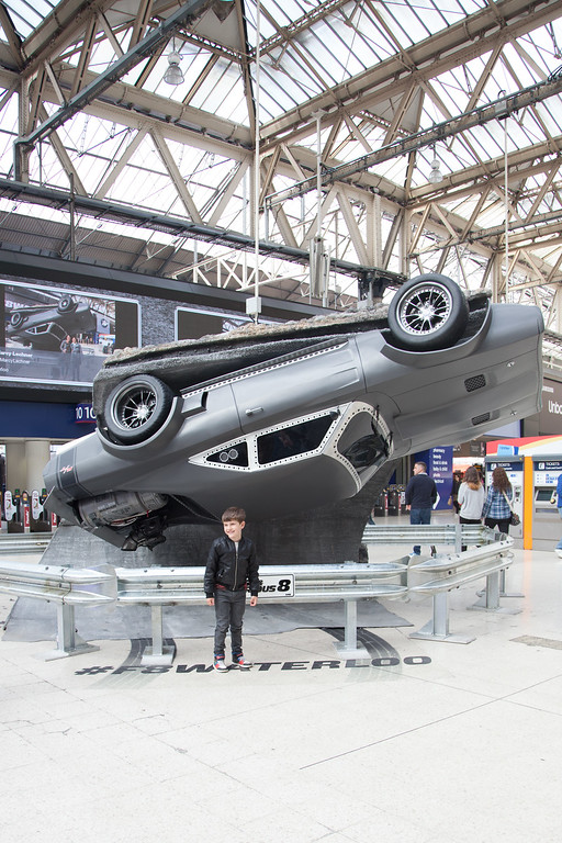 Fast & Furious 8 at Waterloo Station