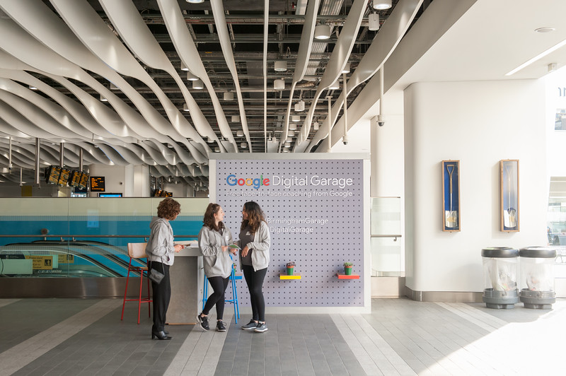 Google Digital Garage at Birmingham New Street