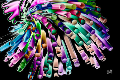 Colorful Straws
