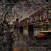 Rusty under the bridge