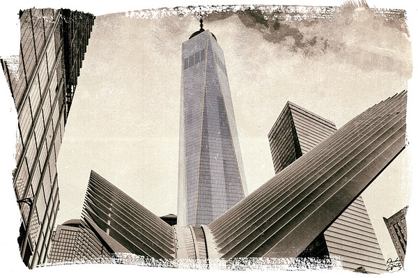 The new World Trade Center Tower -