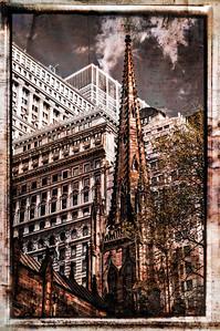 Perspectives in Lower Manhattan