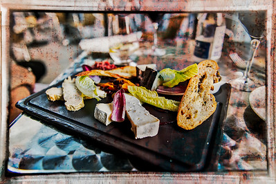 The Bread and Cheese Plate. Quebec City.