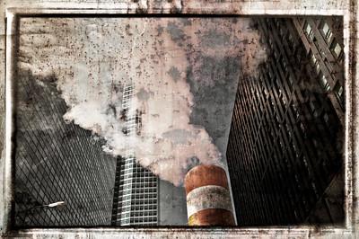 Manhattan typical steam exhaust