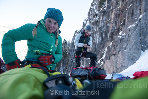 The North Face Summit Series Campaign, Telluride, 2-2014 - Cory Richards, Emily Harrington