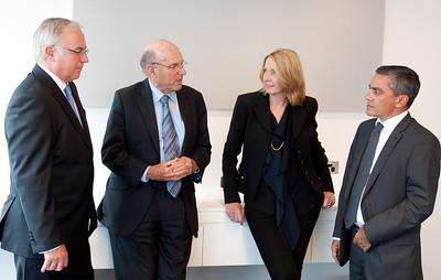Alan Kohler, Robert Gottliebsen, Karen Maley and Stephen Bartholomeusz