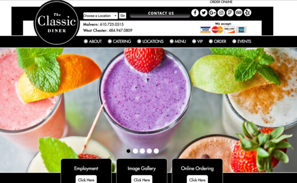 The Classic Diner Website