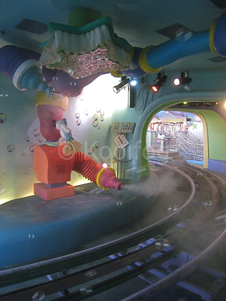 Fog Effect at Dr. Seuss Ride in Orlando