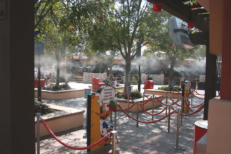 Entry to Universal Studios Hollywood with Misting