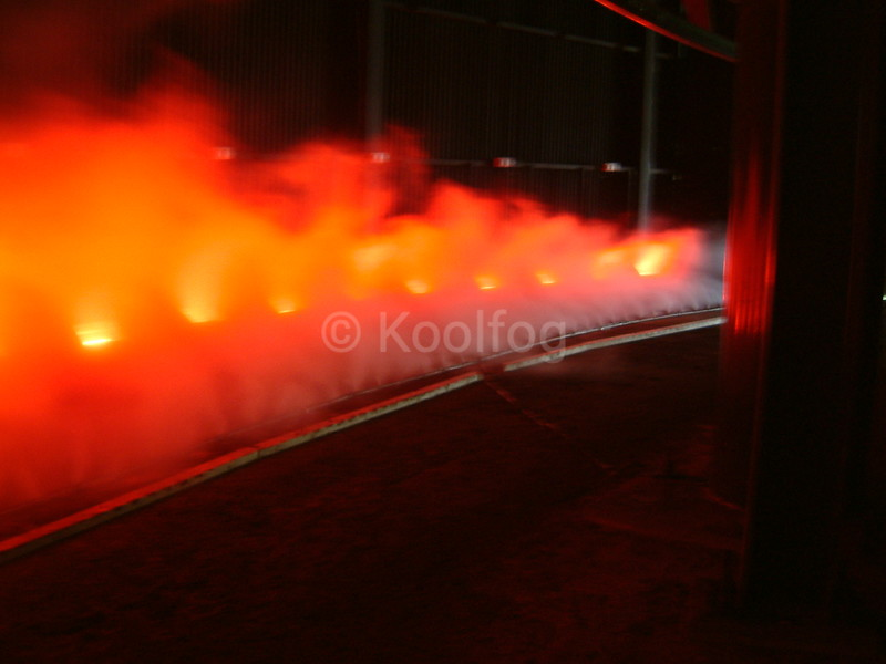 Fire Effect in Tunnel