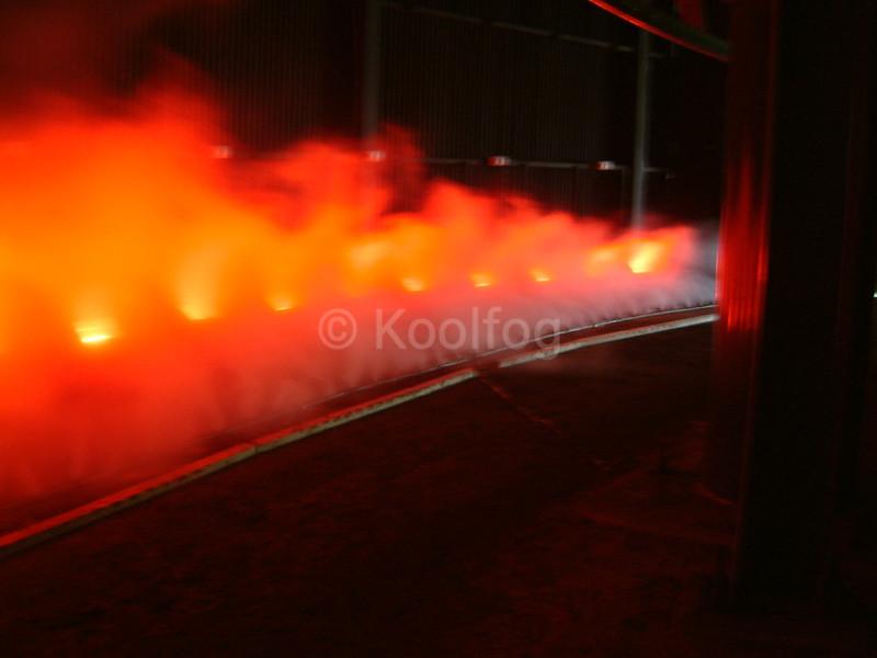 Fire Effect in Tunnel