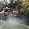 Tunnel in Water Ride Obscured by Fog