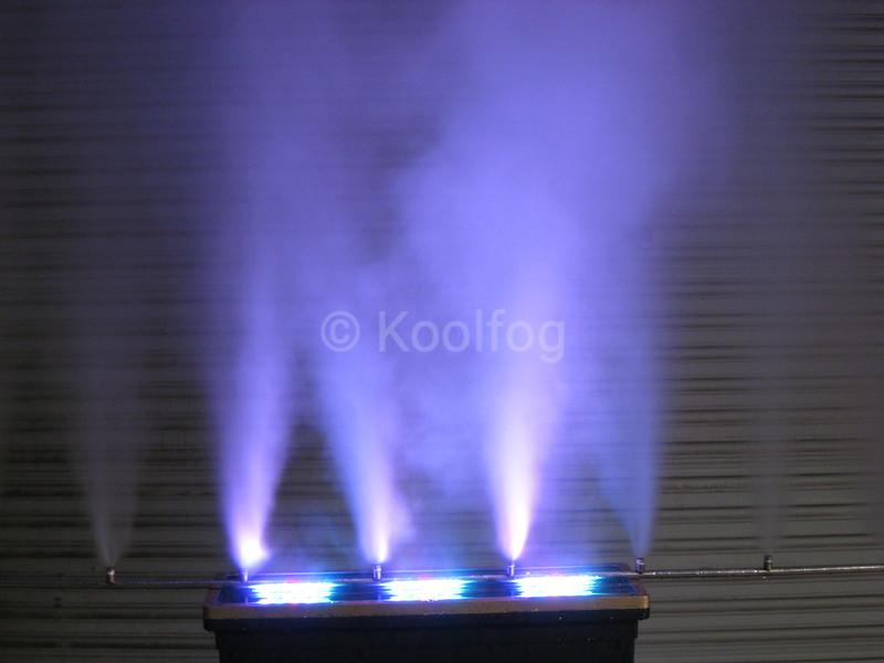 Purple Fog Wall