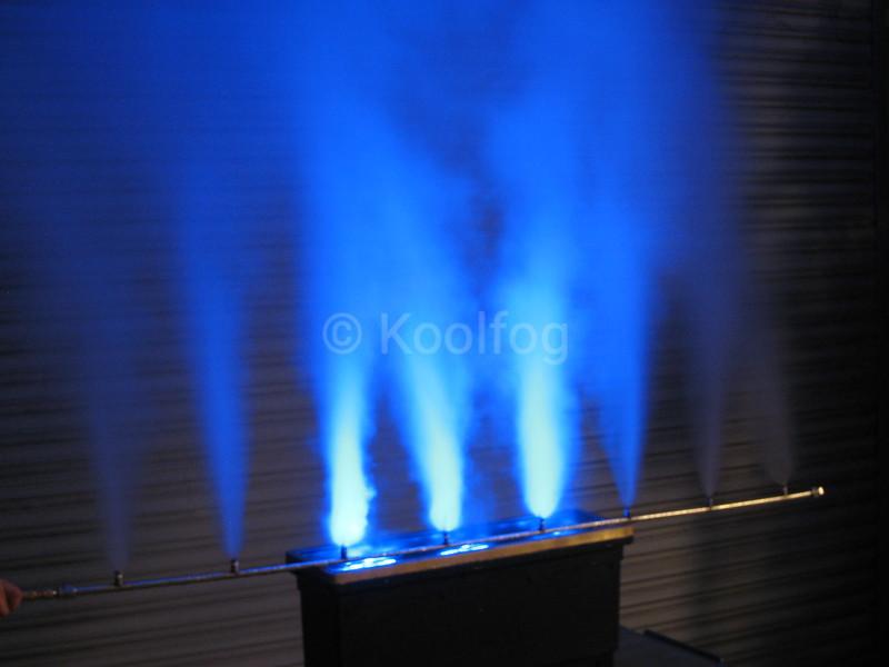 Blue Fog Wall