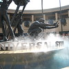 Universal Fountain with Fog