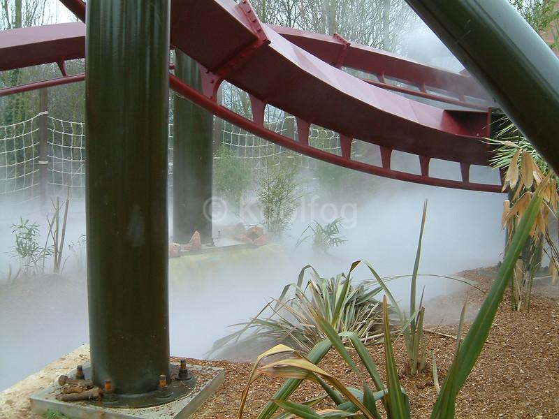 Fog Under Coaster