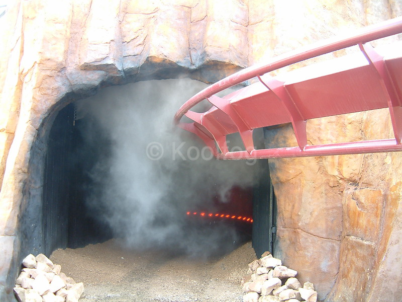Tunnel Entrance with Fog
